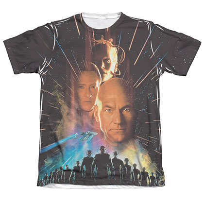 Star Trek TNG First Contact Sublimation T-Shirt