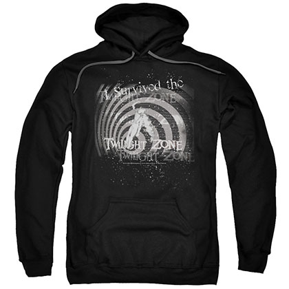 Twilight Zone I Survived Black Pullover Hoodie