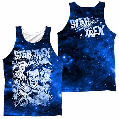 Star Trek Pop Stars Sublimation Tank Top