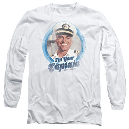 Love Boat I'm Your Captain White Long Sleeve T-Shirt