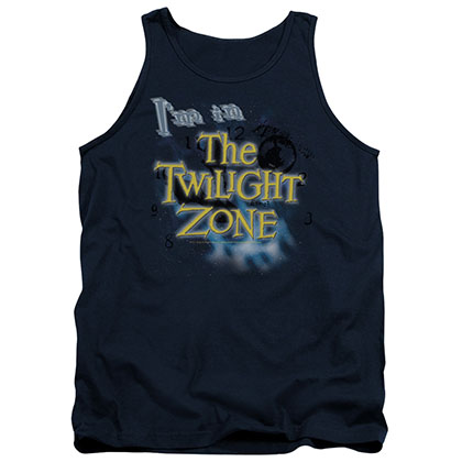 Twilight Zone I'm In The Twilight Zone Blue Tank Top