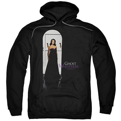 Ghost Whisperer Doorway Black Pullover Hoodie