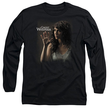Ghost Whisperer Ethereal Black Long Sleeve T-Shirt