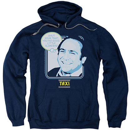Taxi Shut Your Trap Blue Pullover Hoodie