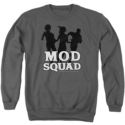 Mod Squad Mod Squad Run Simple Gray Crew Neck Sweatshirt