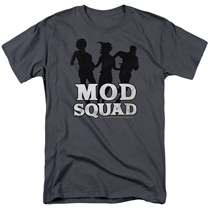 Mod Squad Mod Squad Run Simple Gray T-Shirt