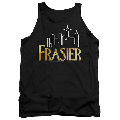 Frasier Frasier Logo Black Tank Top