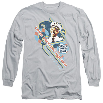 Love Boat Exciting And New Gray Long Sleeve T-Shirt