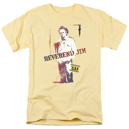 Taxi Reverend Jim Yellow T-Shirt