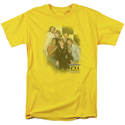 Taxi Sunshine Cab Yellow T-Shirt