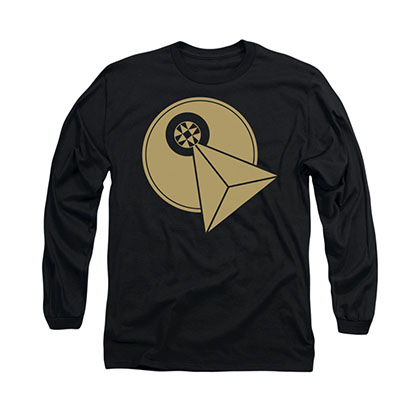 Star Trek Vulcan Logo Black Long Sleeve T-Shirt