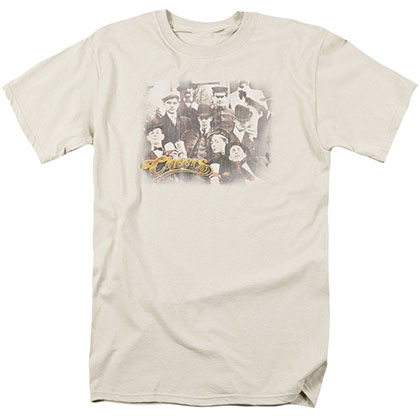 Cheers Opening Distressed Beige T-Shirt
