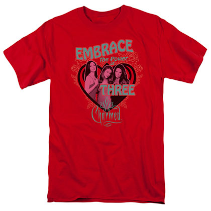 Charmed Embrace The Power Red T-Shirt