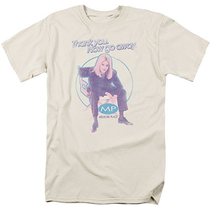 Melrose Place Love Amanda Beige T-Shirt