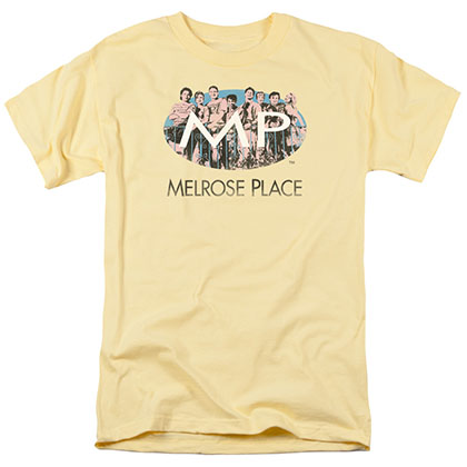 Melrose Place Meet At The Place Yellow T-Shirt