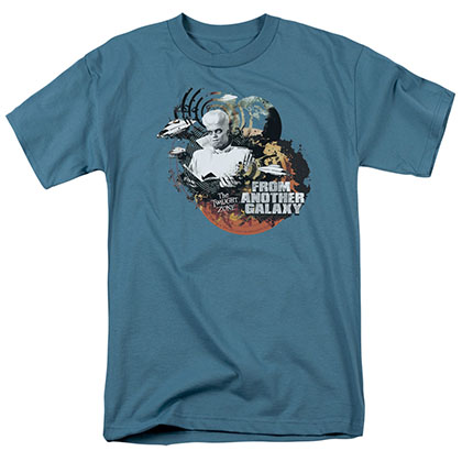 Twilight Zone From Another Galaxy Blue T-Shirt