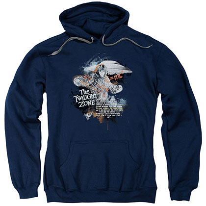 Twilight Zone Science&Amp;Superstition Blue Pullover Hoodie