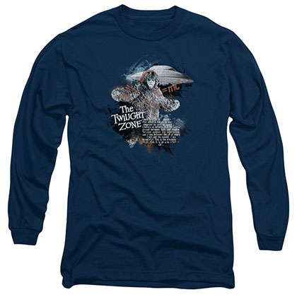 Twilight Zone Science&Superstition Blue Long Sleeve T-Shirt