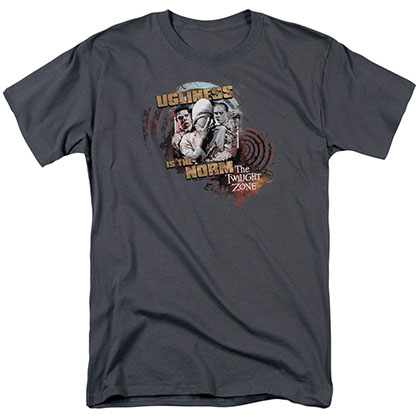 Twilight Zone The Norm Gray T-Shirt