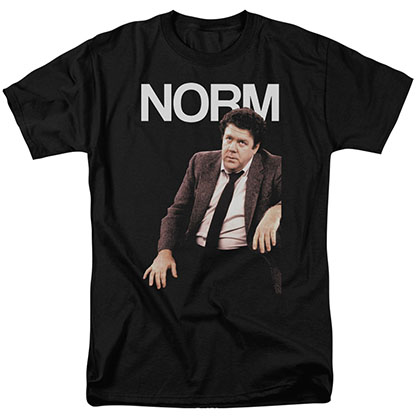 Cheers Norm Black T-Shirt