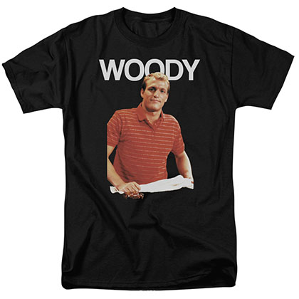 Cheers Woody Black T-Shirt