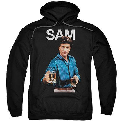 Cheers Sam Black Pullover Hoodie