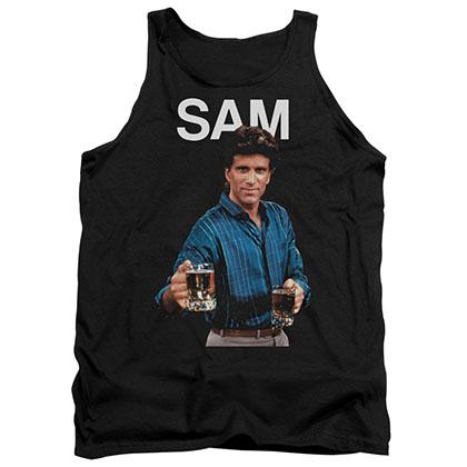 Cheers Sam Black Tank Top