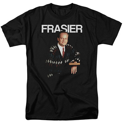 Cheers Frasier Black T-Shirt