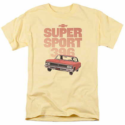 Chevy Super Sport 396 Yellow T-Shirt