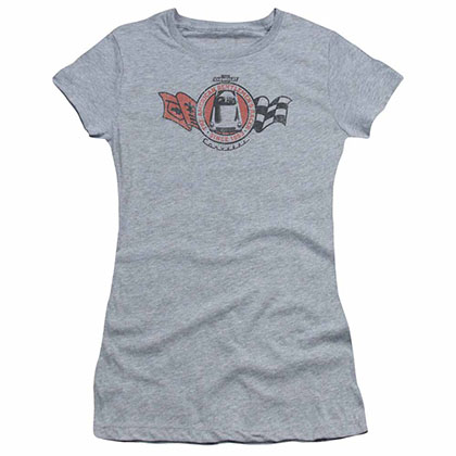 Chevy Gentlemen'S Racer Gray Juniors T-Shirt
