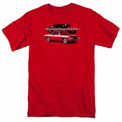 Chevy 65 Corvair Mona Spyda Coupe Red T-Shirt
