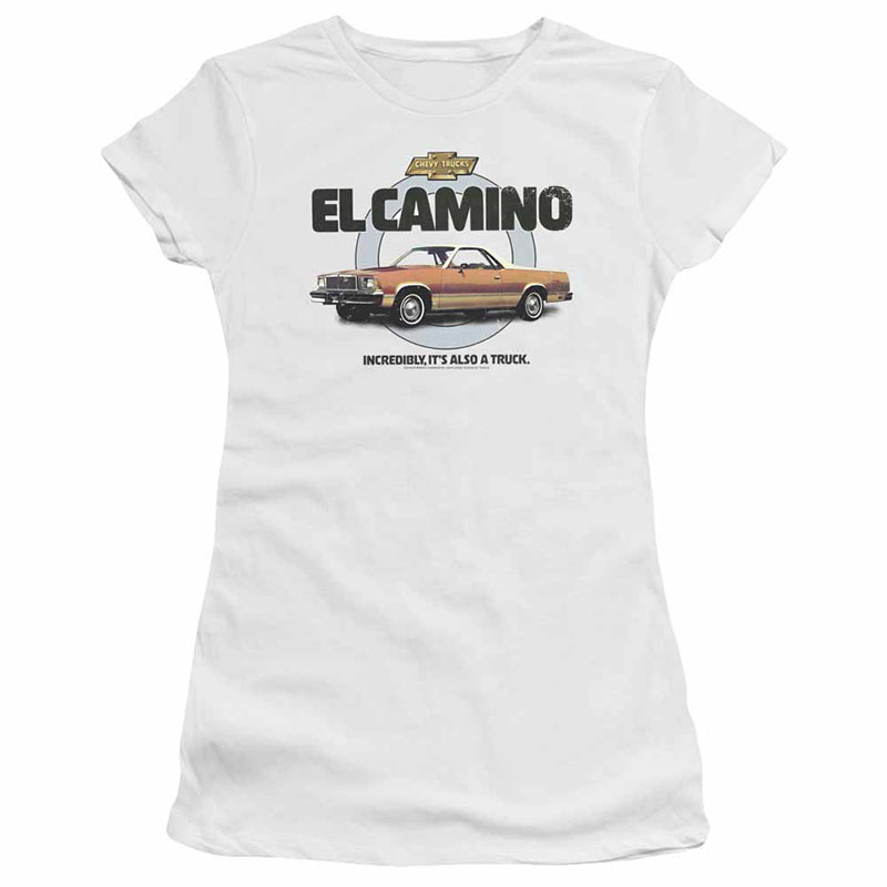 Chevy Also A Truck White Juniors T-Shirt