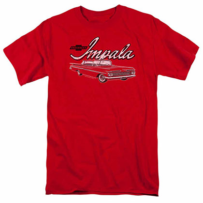 Chevy Classic Impala Red T-Shirt