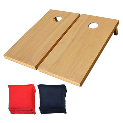 Pro Solid Wood Cornhole Bean Bag Toss Tailgate Game