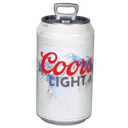 Coors Light Mini Fridge Can Cooler