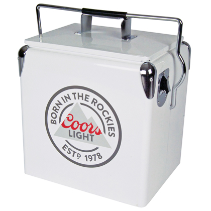 Coors Light Vintage Ice Chest