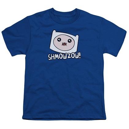 Adventure Time Shmowzow Youth Tshirt