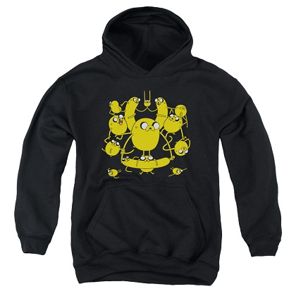 Adventure Time Jakes on Jakes on Jakes Youth Hoodie