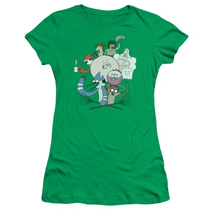 Regular Show All The Friends Womens Tshirt