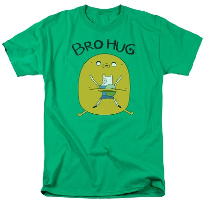 Adventure Time Bro Hug Tshirt
