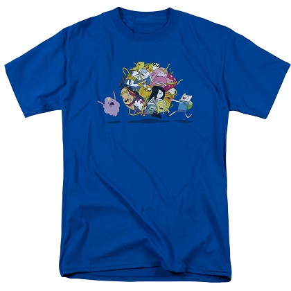 Adventure Time Ball Of Friends Tshirt