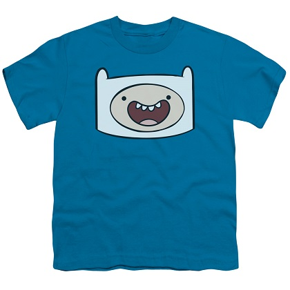 Adventure Time Finn the Human Youth Tshirt