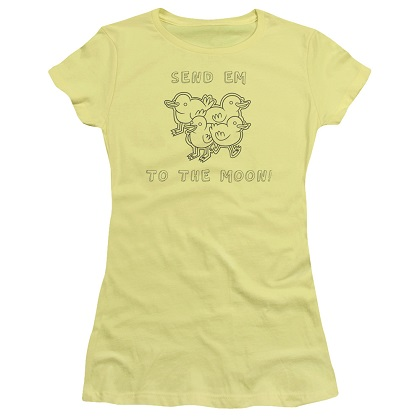 Regular Show Baby Ducks Womens Tshirt
