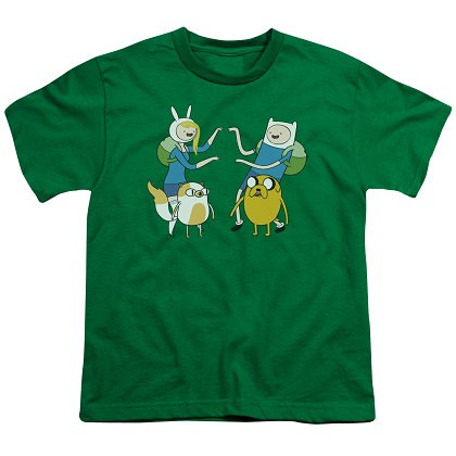 Adventure Time Fionna and Finn Youth Tshirt