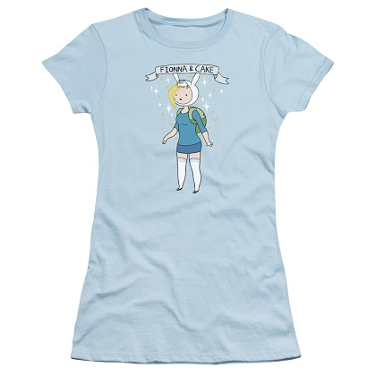 Adventure Time Fionna and Cake Womens Tshirt