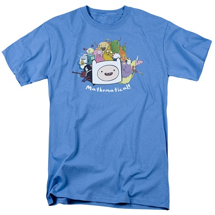 Adventure Time Mathematical Tshirt