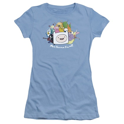 Adventure Time Mathematical Womens Tshirt