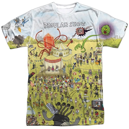 Regular Show Carnival Tshirt