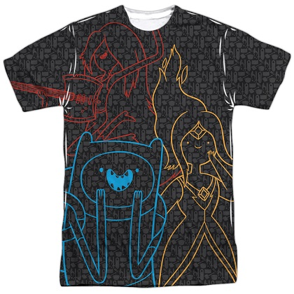 Adventure Time Friends Trio Tshirt
