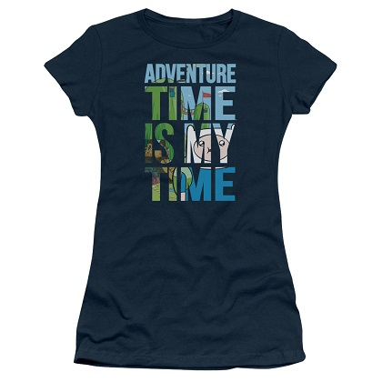Adventure Time Is My Time Womens Tshirt